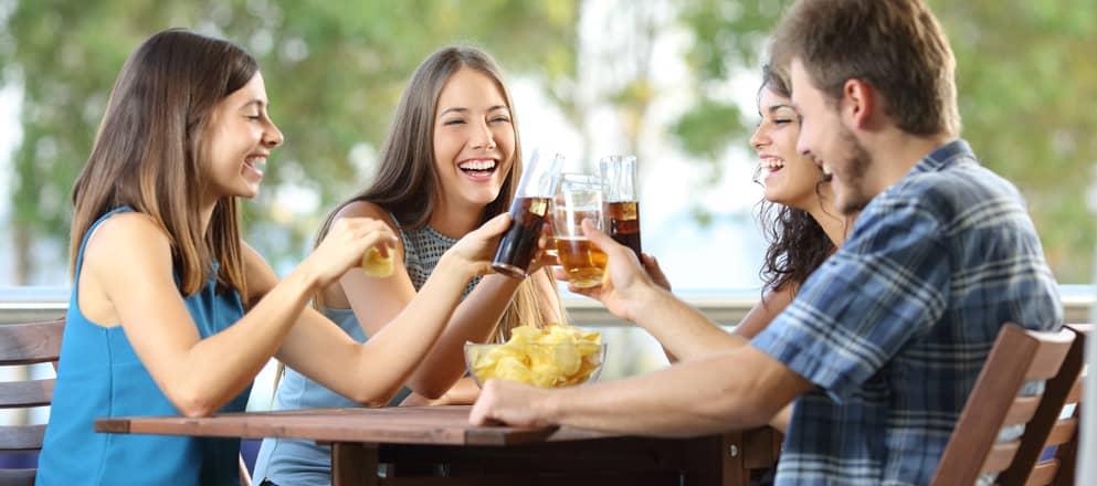 Gezond eten met feestjes