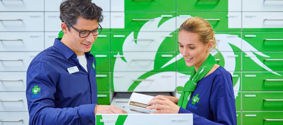 Medewerkers BENU in de koffiepauze
